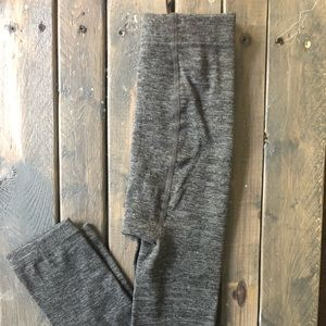 Women's S/M leggings Heather Grey Ankle length